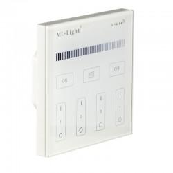 Nástenný dotykový ovládač pre RF prijímače a svietidlá MiLight-T1 Panel