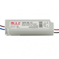 LED napájací zdroj 12V-48W Global Leader Power-GPV-50-12 IP67