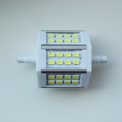 R7S - 78mm 24LED SMD5730 5W 540Lm Cold White