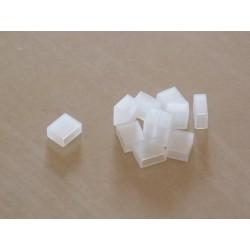 Koncovka pre LED pásy šírky 10mm s IP68 (v silikónovom púzdre)-silikónová