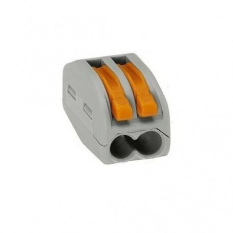 WAGO svorka bezskrutková 2x0,08-2,5mm/2x0,08x4mm-222-412
