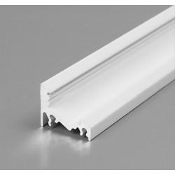 Hliníkový profil pre LED pásy CORNER - lakovaný biely