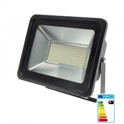 LED SMD reflektor 150W 1200Lm Cold White IP65 Black OPTONICA