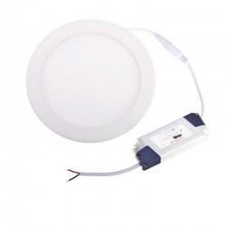 LED panel Round 225mm 18W 1480Lm Warm White BRG