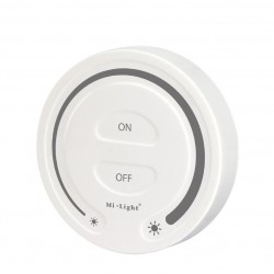 Nástenný dotykový ovládač stmievania ROUND pre RF prijímače a svietidlá MiLight
