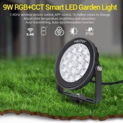 LED záhradný reflektor RGB+CCT 9W 900Lm DC24V RF 2,4GHz MiLight