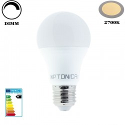 E27 A60 Classic 12W LED 960Lm Warm White DIMM OPTONICA