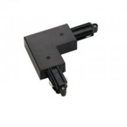 Konektor spojovací L pre LIGHT-TRACK systém 1F - čierny