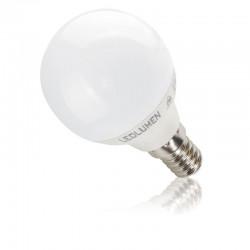 LED žiarovka E14 G45 6W 554 Lumenov Teplá biela alebo Denná biela LEDLUMEN