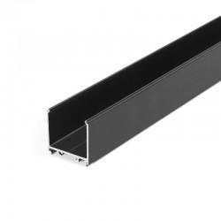 Hliníkový profil pre LED pásy - konštrukčný VARIO30-08 Black