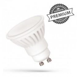 Keramická LED žiarovka GU10 16LED SMD2835 10W 930Lm Studená biela 6000K SpectrumLED