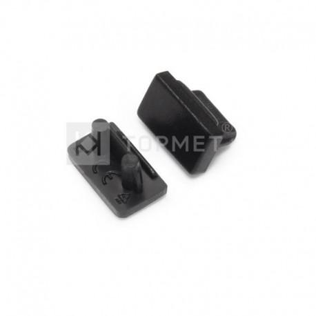 Koncovky pre hliníkový profil SLIM8 / pár