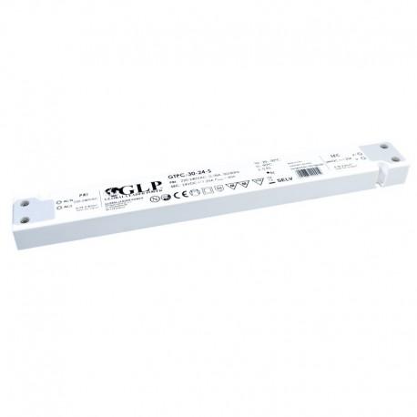 LED nábytkový napájací zdroj 24V-30W IP20 GTPC-30-24-S