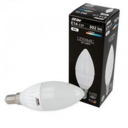E14 C37 LED SMD2835 7W 630Lm Naturall White Candle Ceramic LEDLINE