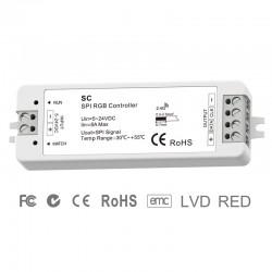 WiFi - SPI kontrolér pre digitálne LED pásy RGB Skydance