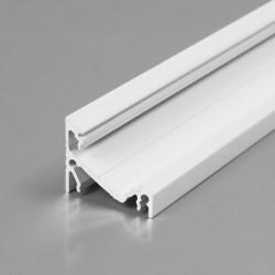 Rohový hliníkový profil CORNER14 biely lakovaný