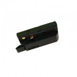 Adaptér na svietidlo pre LIGHT-TRACK systém 1F - čierny