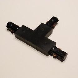 Konektor spojovací T pre LIGHT-TRACK systém 1F - čierny