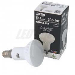 E14 R50 10LED SMD2835 7W 560Lm Warm White Ceramic LEDline