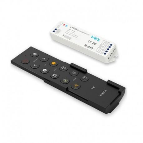 Set kontrolér CCT 2,4GHz RF s dotykovým DO DC12-24V 12A LTECH V2+R4