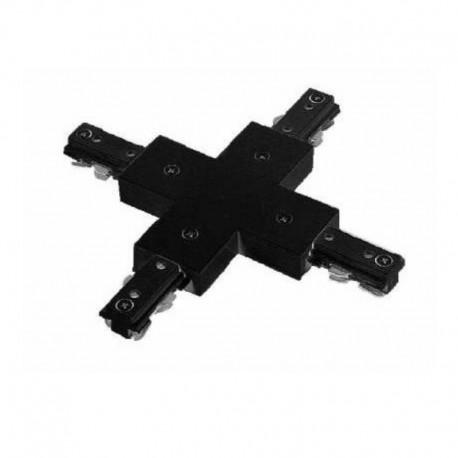 Konektor spojovací X pre LIGHT-TRACK systém 1F - čierny