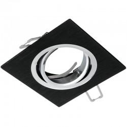 Rámček výklopný štvorcový ATENA-K-B PremiumLUX-čierny