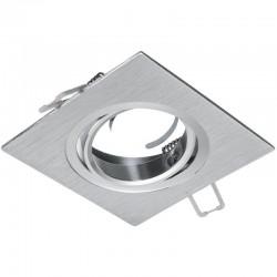 Rámček výklopný štvorcový ATENA-K- PremiumLUX-strieborný
