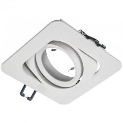 Rámček výklopný štvorcový KORAL-W PremiumLUX-biely matný
