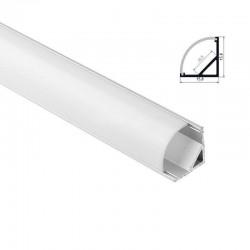 Hliníkový profil pre LED pásy COIN 16x16 - ELOX