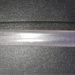 Zmršťovacia bužírka šírky 12mm - transparentná / 1m