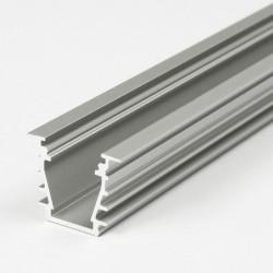 Hliníkový profil pre LED pásy DEEP 23x19 - zápustný - ELOX