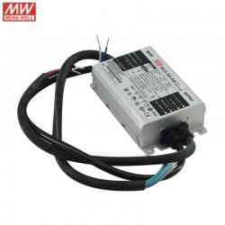 LED stmievateľný napájací prúdový zdroj 530-2100mA 50W IP67 Mean Well XLG-50-AB