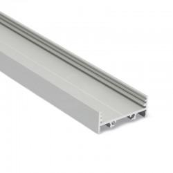Hliníkový profil pre LED pásy - konštrukčný VARIO30-01 ELOX