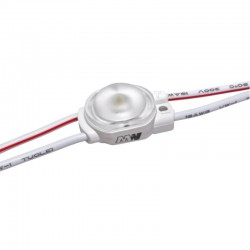 LED modul 0,36W 58Lm 12V Cold White 170° IP67