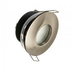 Rámček pevný okrúhly DZETA matný chróm IP44 PremiumLUX