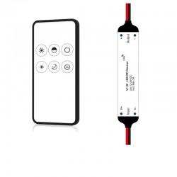 Set mini RF stmievač + diaľkové ovládanie SKYDANCE V1-W + RM1