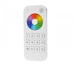 Diaľkový ovládač pre RF prijímač RGBW-V4 - 4 zónový SKD-RT9 biely
