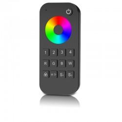 Diaľkový ovládač pre RF prijímač RGBW-V4 - 4 zónový SKD-RT9 čierny