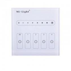 Nástenný dotykový ovládač pre riadenie stmievania signálom 0-10V MiLight-L4