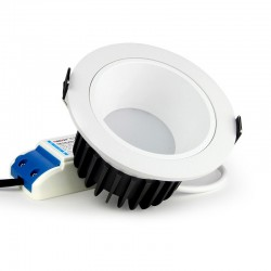 LED stropné svietidlo 12W RGB+CCT Downlight-integrated controller MiLight