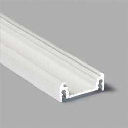 Hliníkový profil pre LED pásy SURAFCE14 biely lakovaný