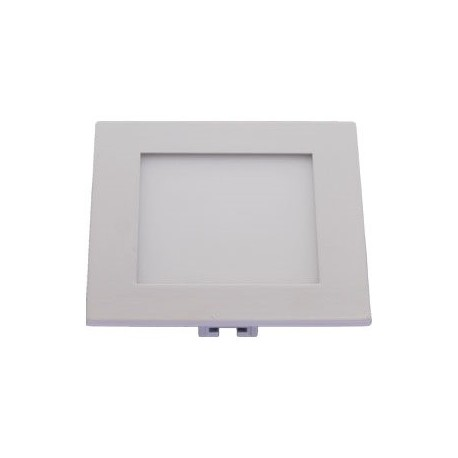 Štvorcový zápustný LED panel 12x12cm 6W 360Lm denná biela 4000K Milio