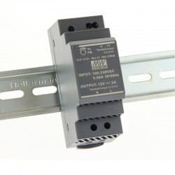 LED napájací zdroj 12V-24W Mean Well HDR-30-12 DIN