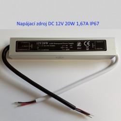 LED napájací zdroj 12V-20W-IP67-BRG