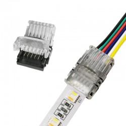Klik konektor-spojka RGBCCT-LED pás/Napájací vodič-Hippo-M