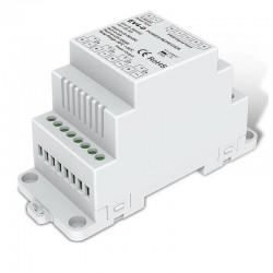 Zosilovač signálu na DIN lištu 4x5A (20A) DC5/36V SKD-EV4-D
