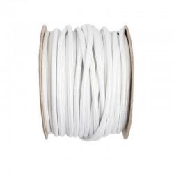 Kábel elek. textilný H03VV 2x0,75 300/300V biely