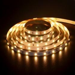 Flexibilný LED pás 60LED/m SMD2835 4,8W/m 400Lm Teplá biela 3000K CRI90 DC 24V 8mm široký