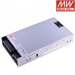 LED napájací zdroj 12V-500W Mean Well RSP-500-12
