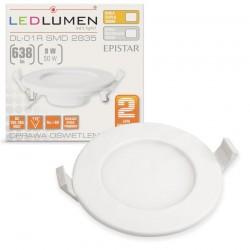 LED stropné svietidlo 9W 638Lm Natural White 110° LEDLUMEN
